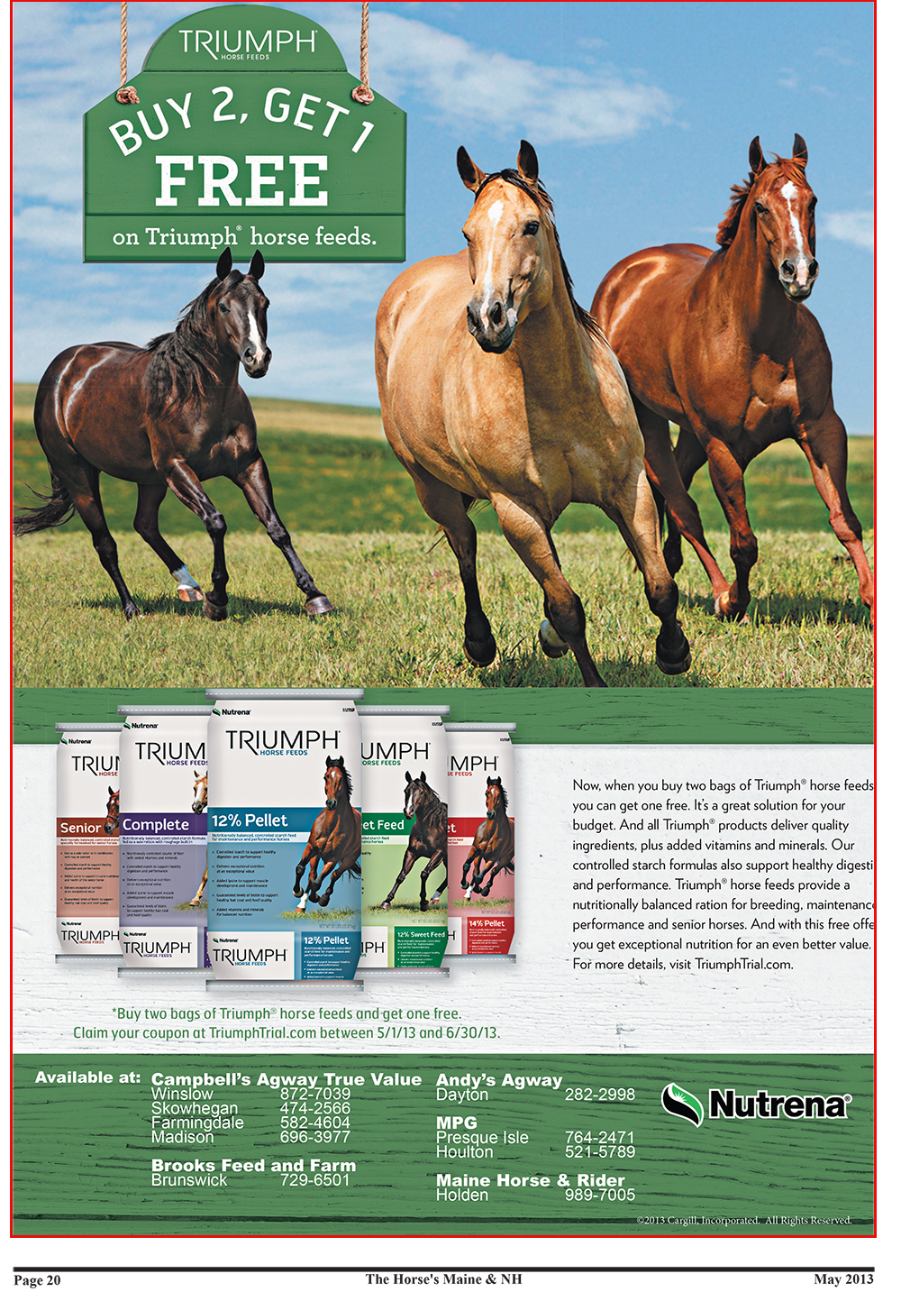 Horses Maine May Issue-20