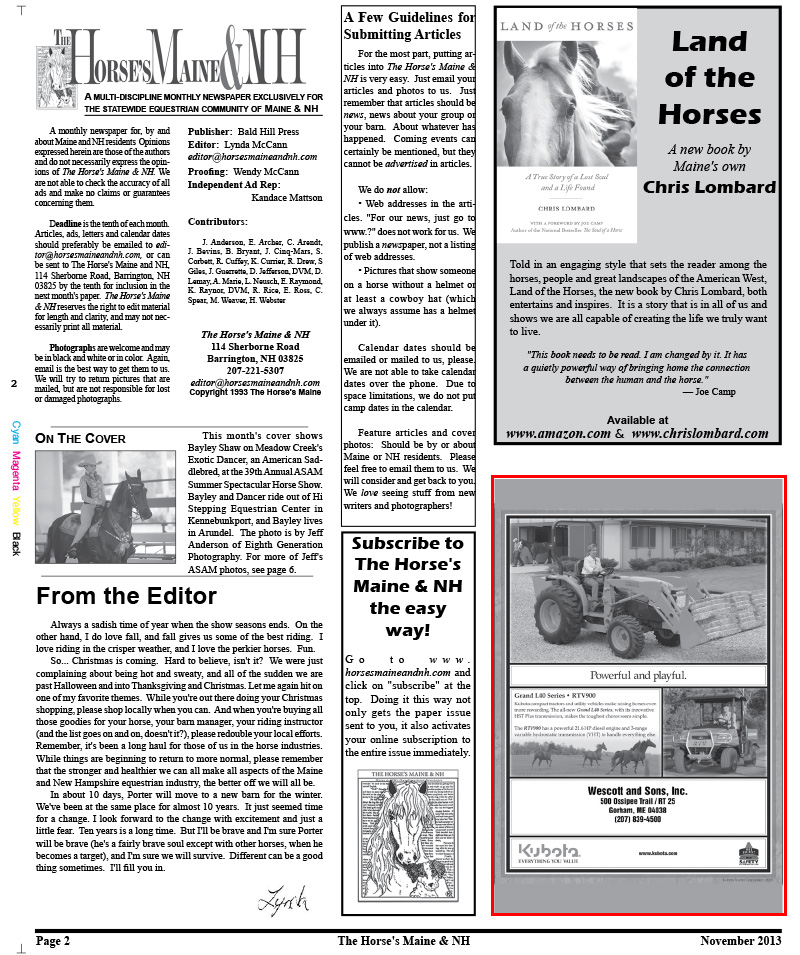 Horse's Maine Nov Issue for web-2