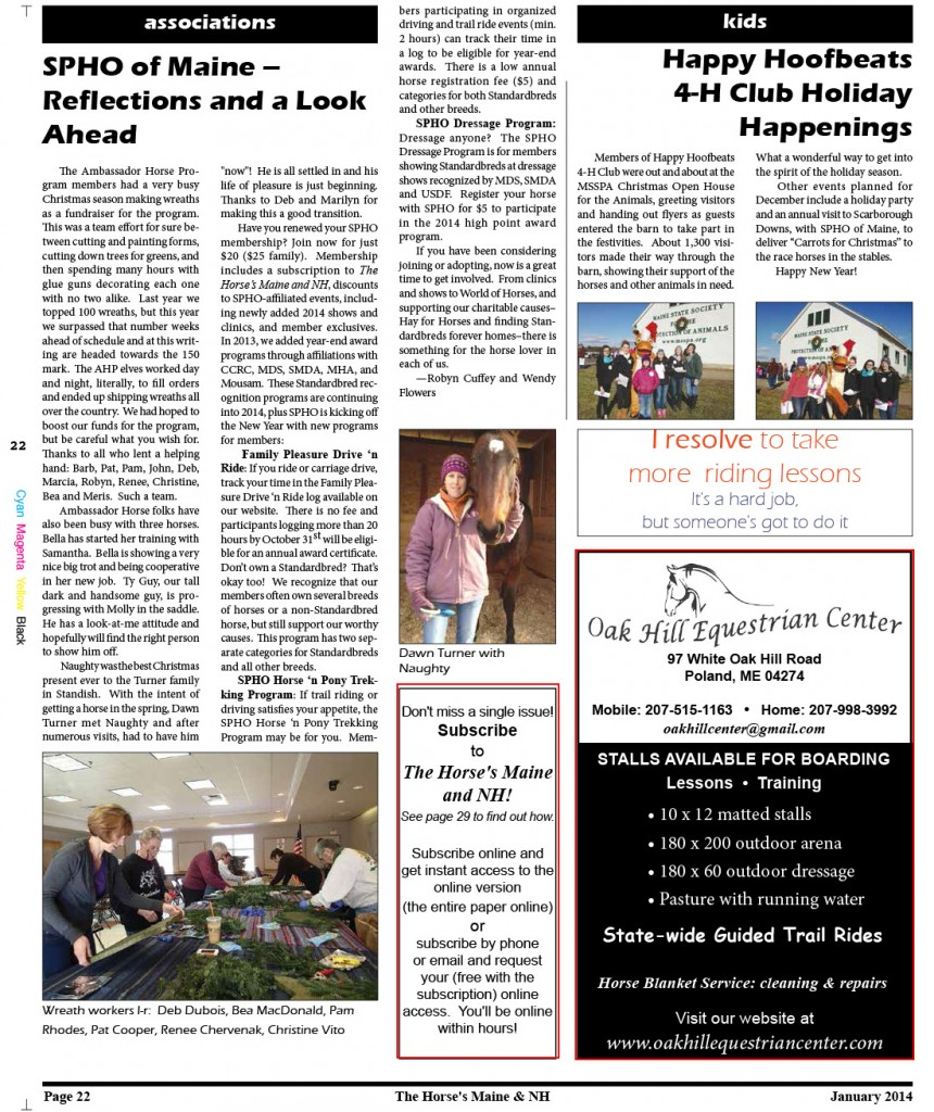 Horses Maine January Issue for web-22
