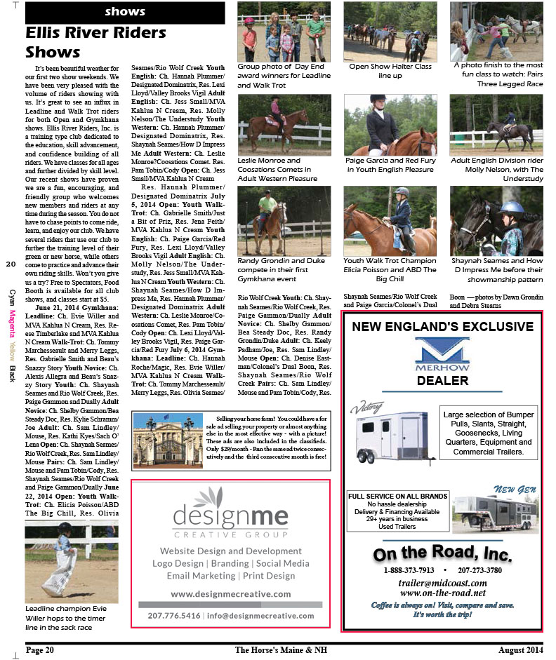 Horses Maine August Issue for web-20