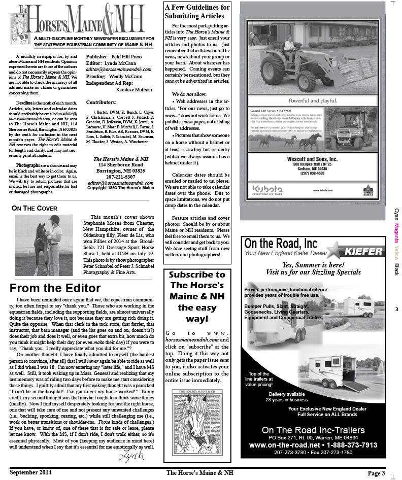 Horses Maine September Issue for web-3