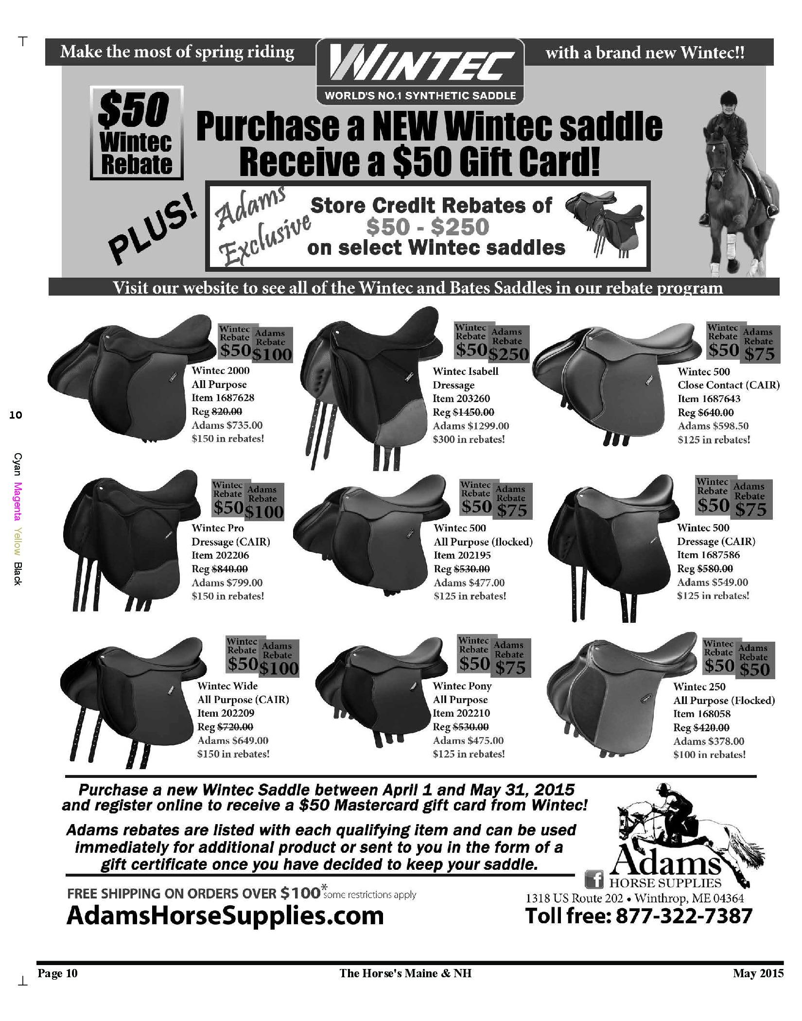 Adam's Horse Supplies