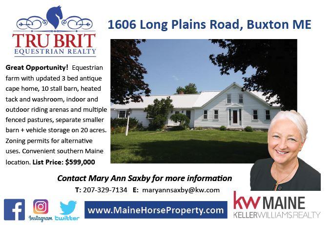 Tru Brit 1606 Long Plains Road, Buxton, ME