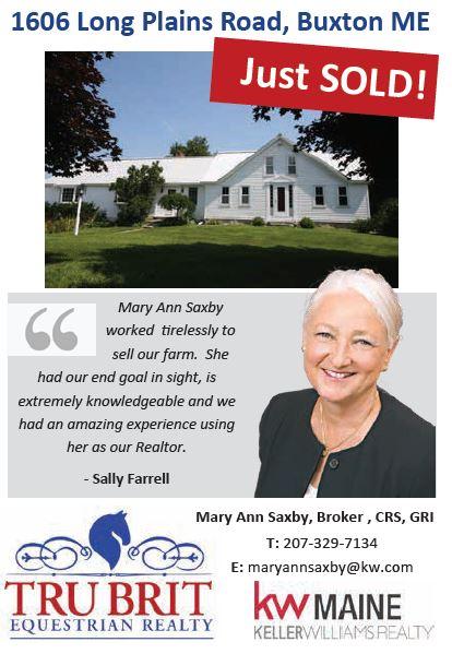 Tru Brit Mary Ann Saxby